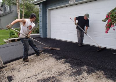 building a new asphalt driveway in anchorage alaska