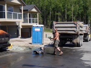 residential asphalt pavement contractor in Anchorage, Alaska