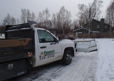 residential and commercial snow removal service in Anchorage, Alaska