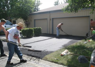 new asphalt driveway in Anchorage, Alaska